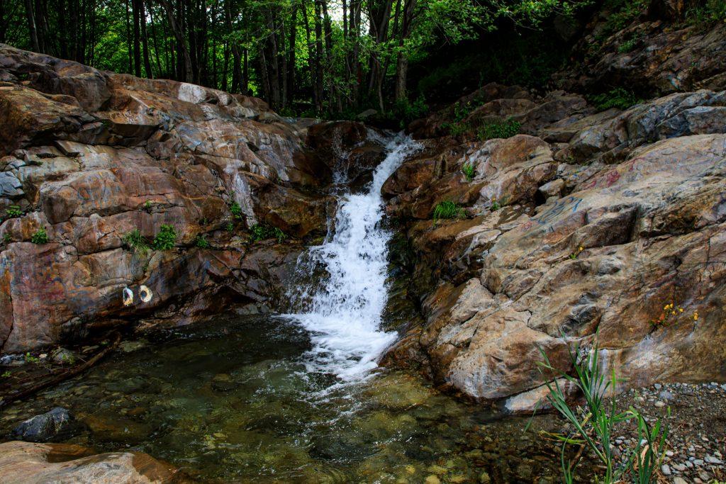 Etiwanda Falls in Southern California's Inland Empire