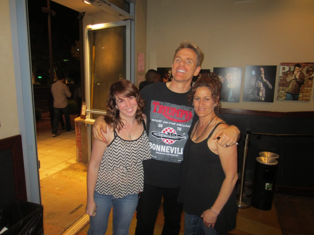 Chris Titus with Fans in 2015