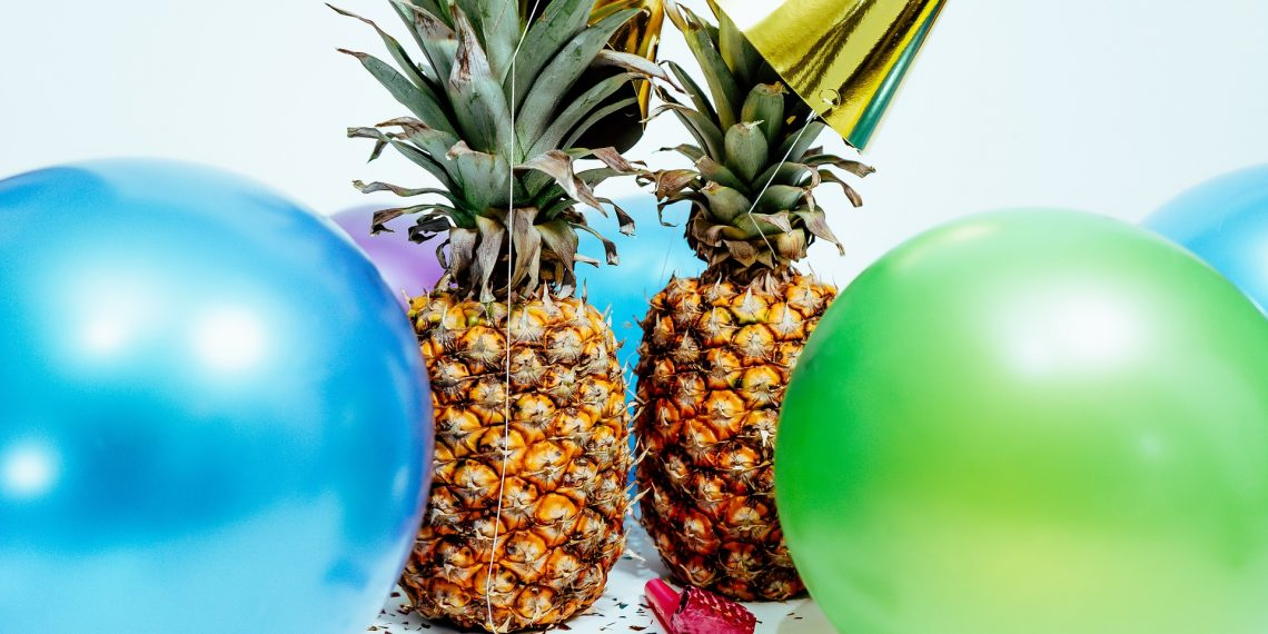 Pineapples and balloons