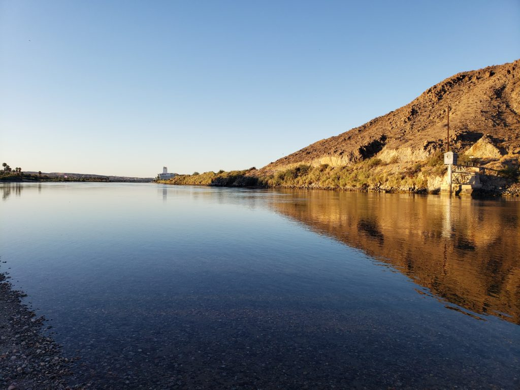 Colorado River at Sunrise